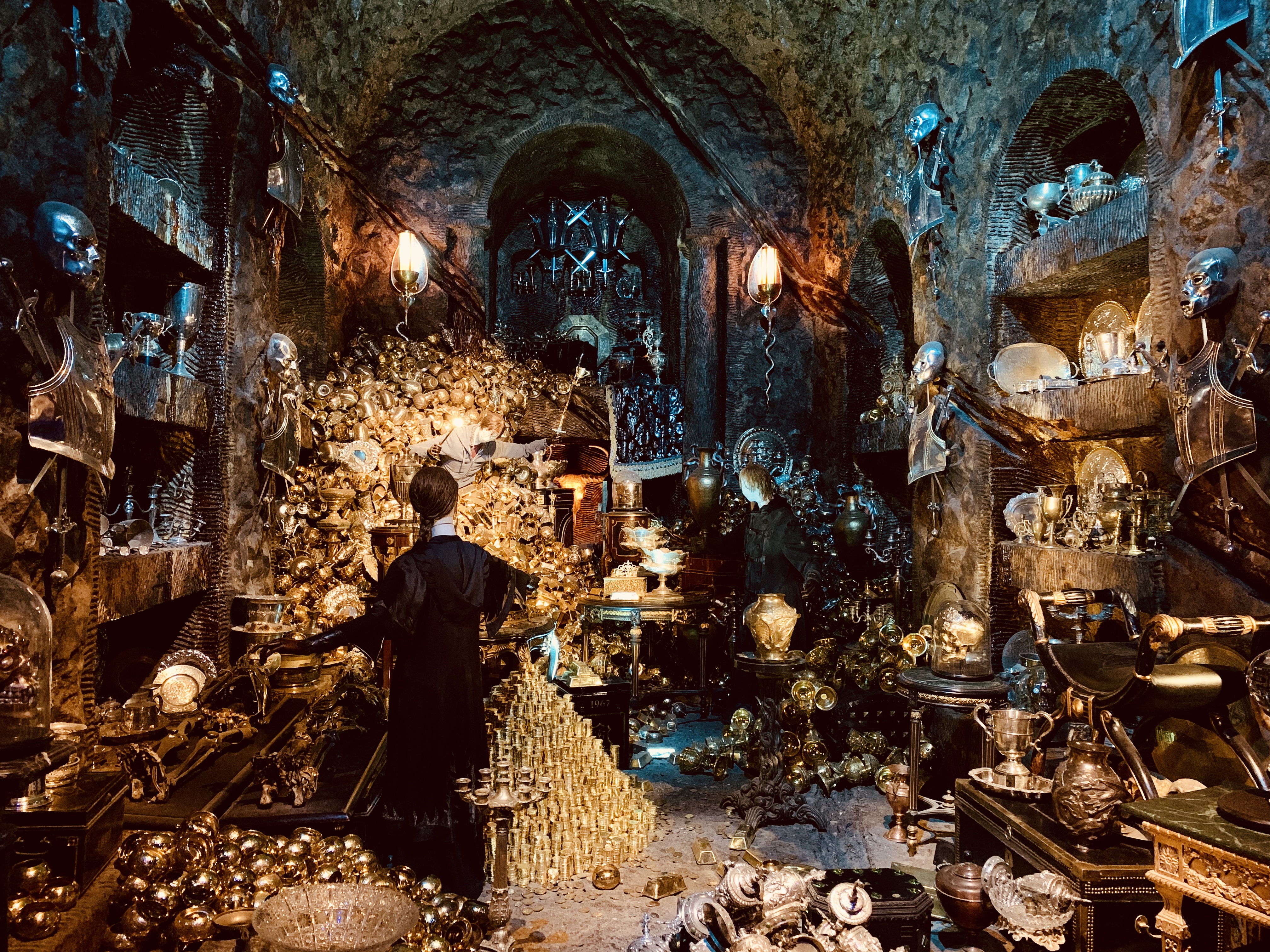 gringotts bank vault of bellatrix lestrange