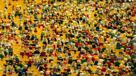 lego men women crowd