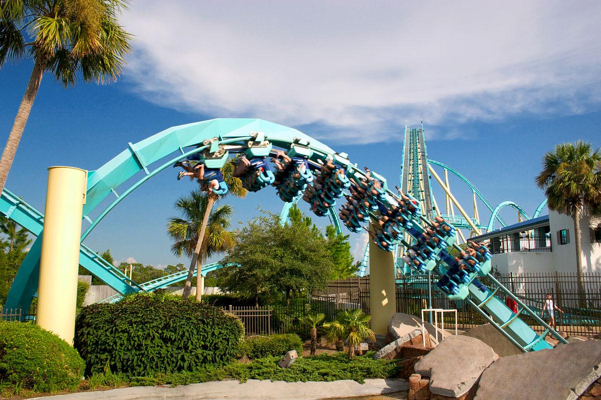 Kraken, Seaworld Orlando