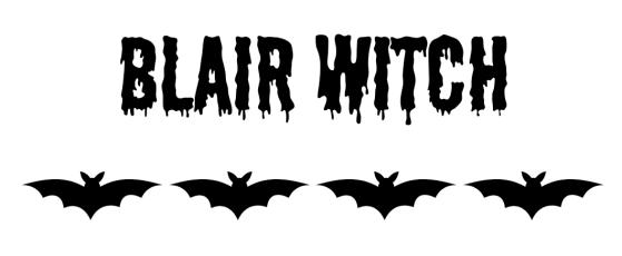 BlairWitchText