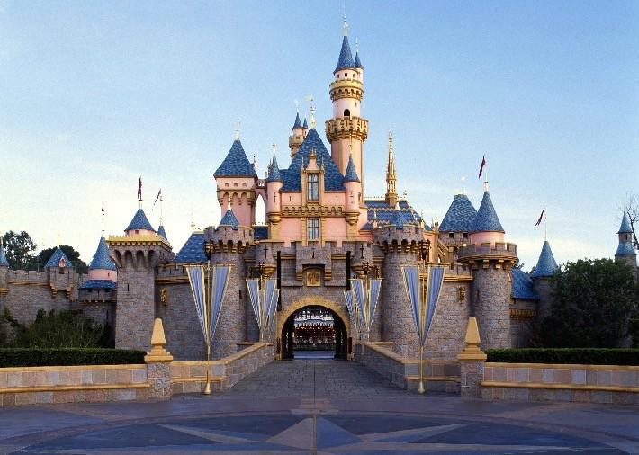 Disneyland Park California Castle