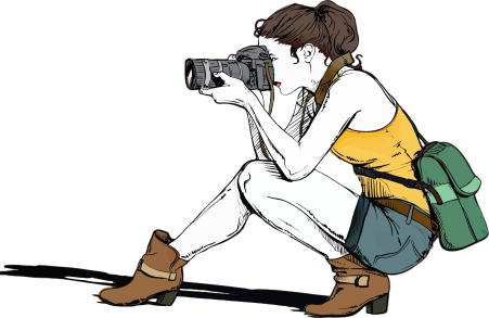 girl photographer