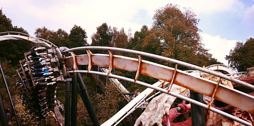 top 10 uk coasters nemesis alton towers