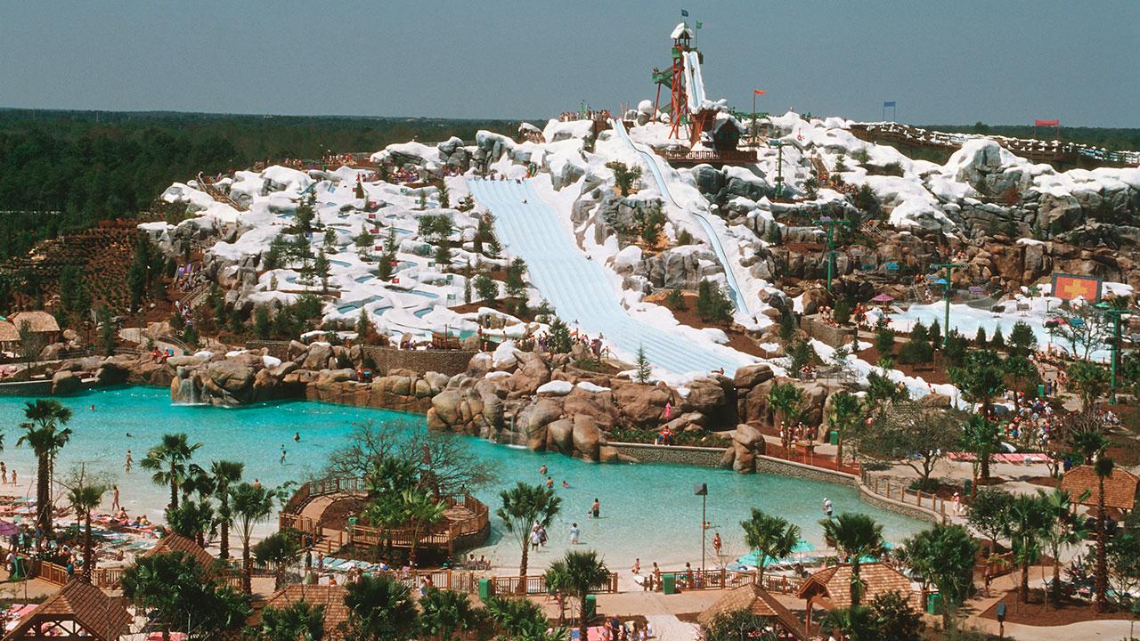 Blizzard Beach Walt Disney World Image