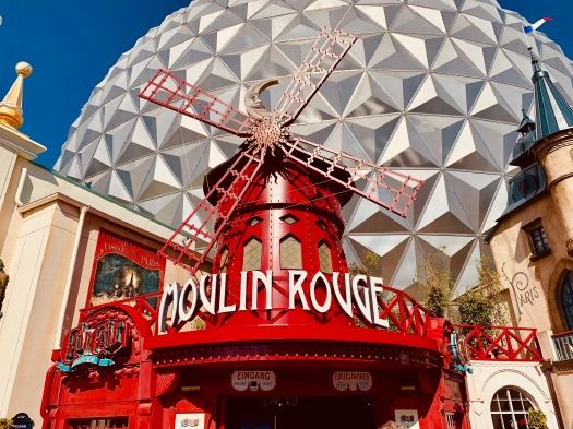 moulin rouge windmill eurosat can can coaster