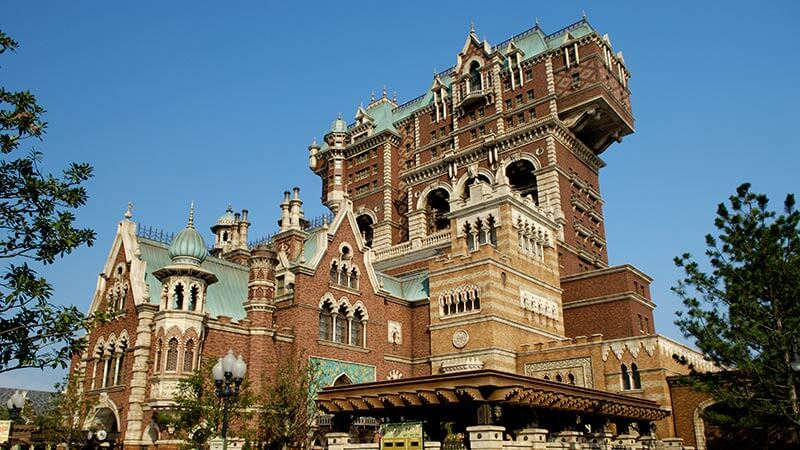 Tokyo Disneysea Tower of Terror my disney parks bucket list