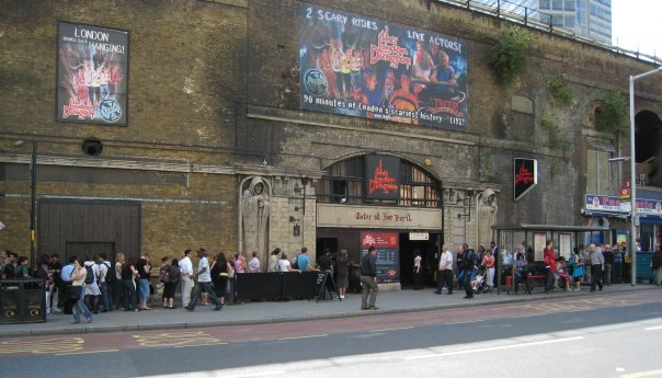 What I miss about the Tooley Street London Dungeons…