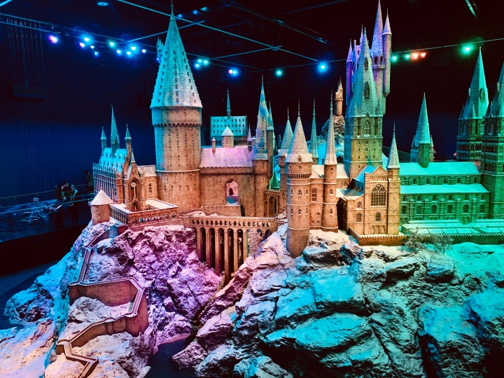 hogwarts in the snow