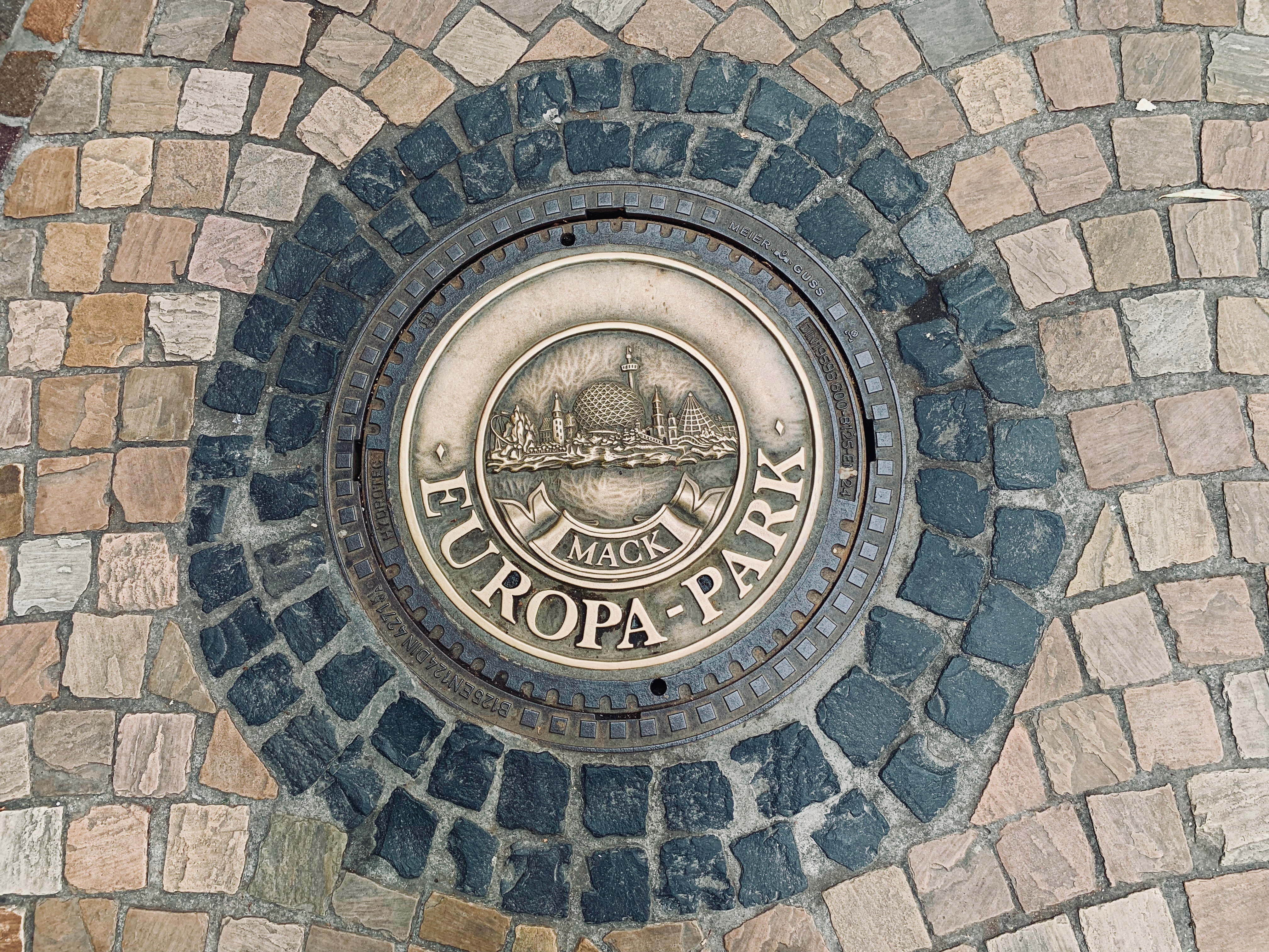 packing new year holiday europa park logo on floor