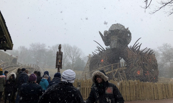 Let it Snow at Alton Towers