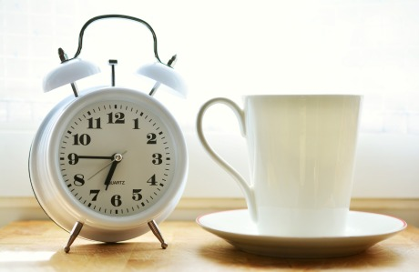 Alarm Clock Cup of Tea