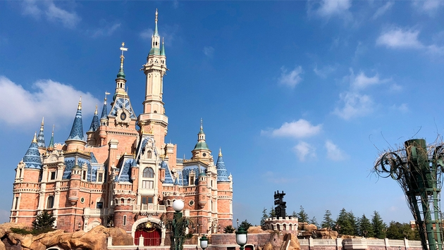 Shanghai Disneyland Resort China Castle
