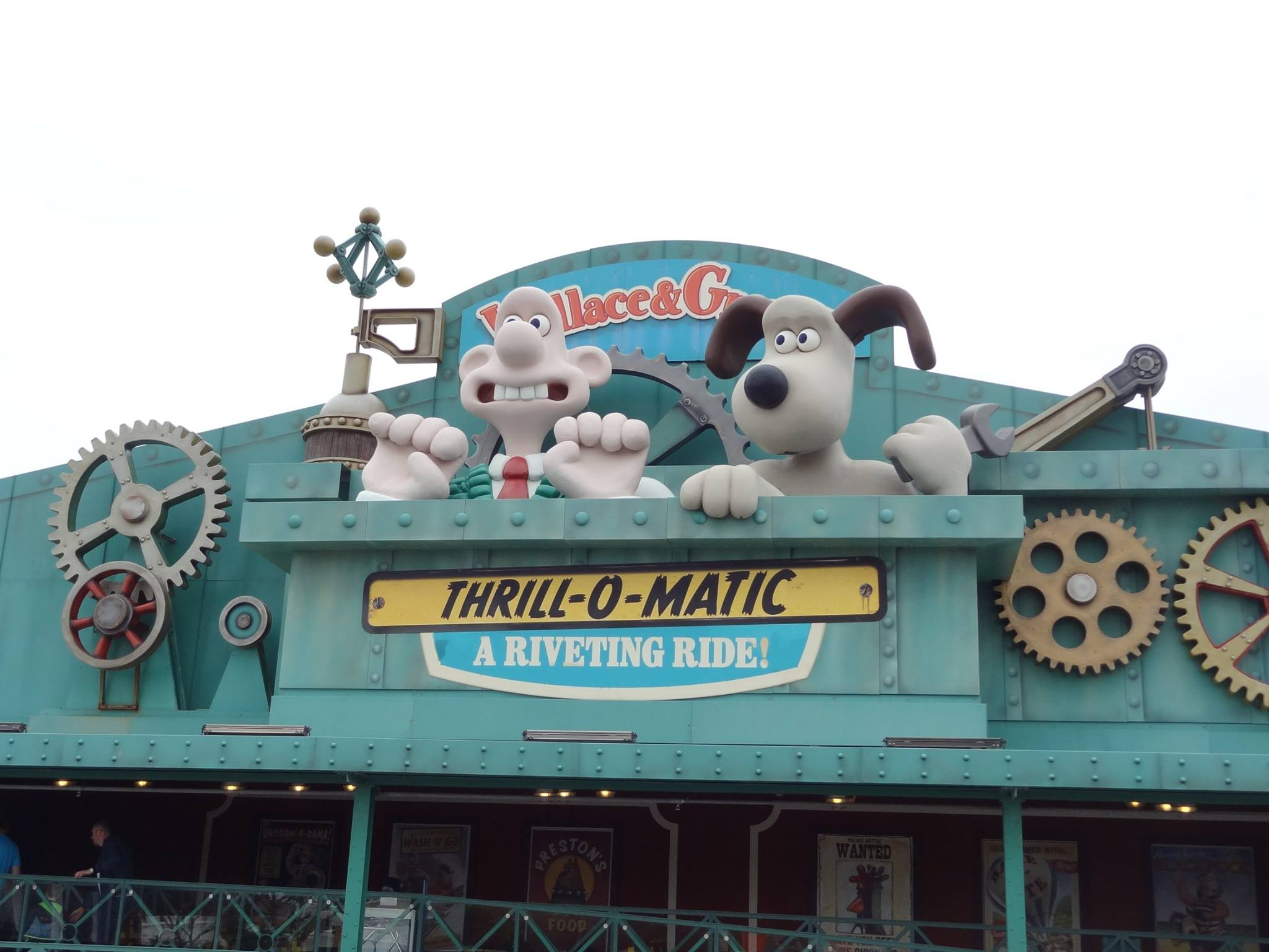 Wallace and Gromit Thrill-o-Matic Ride at Blackpool