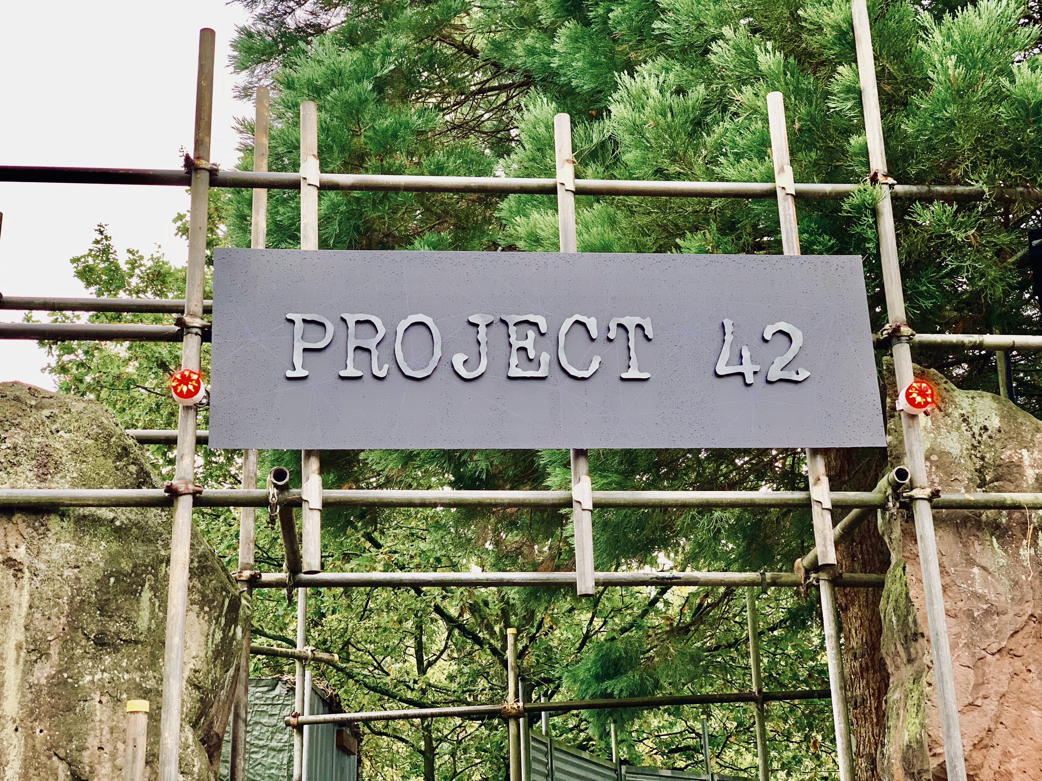 project 42 scare maze