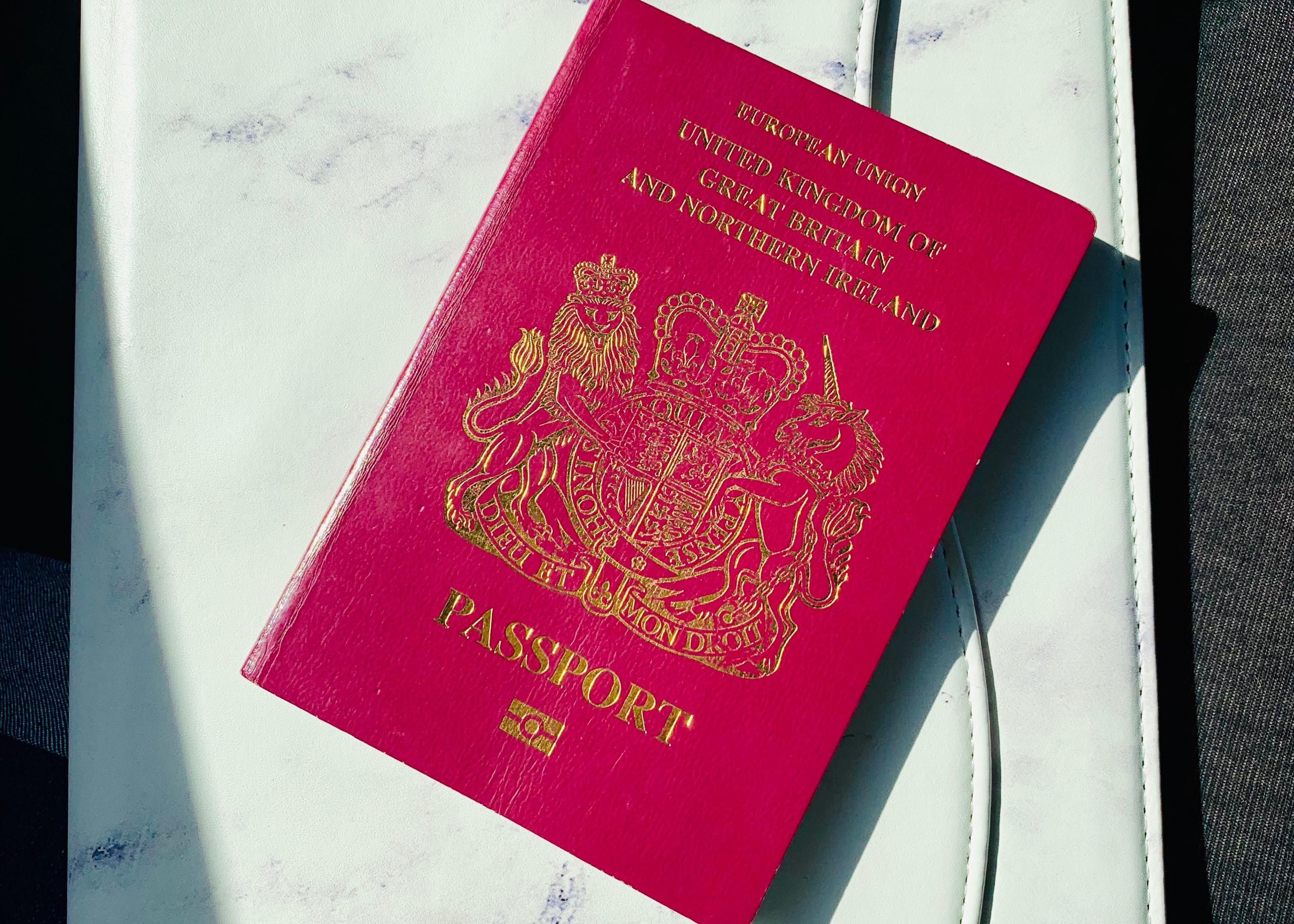 packing new year holiday passport