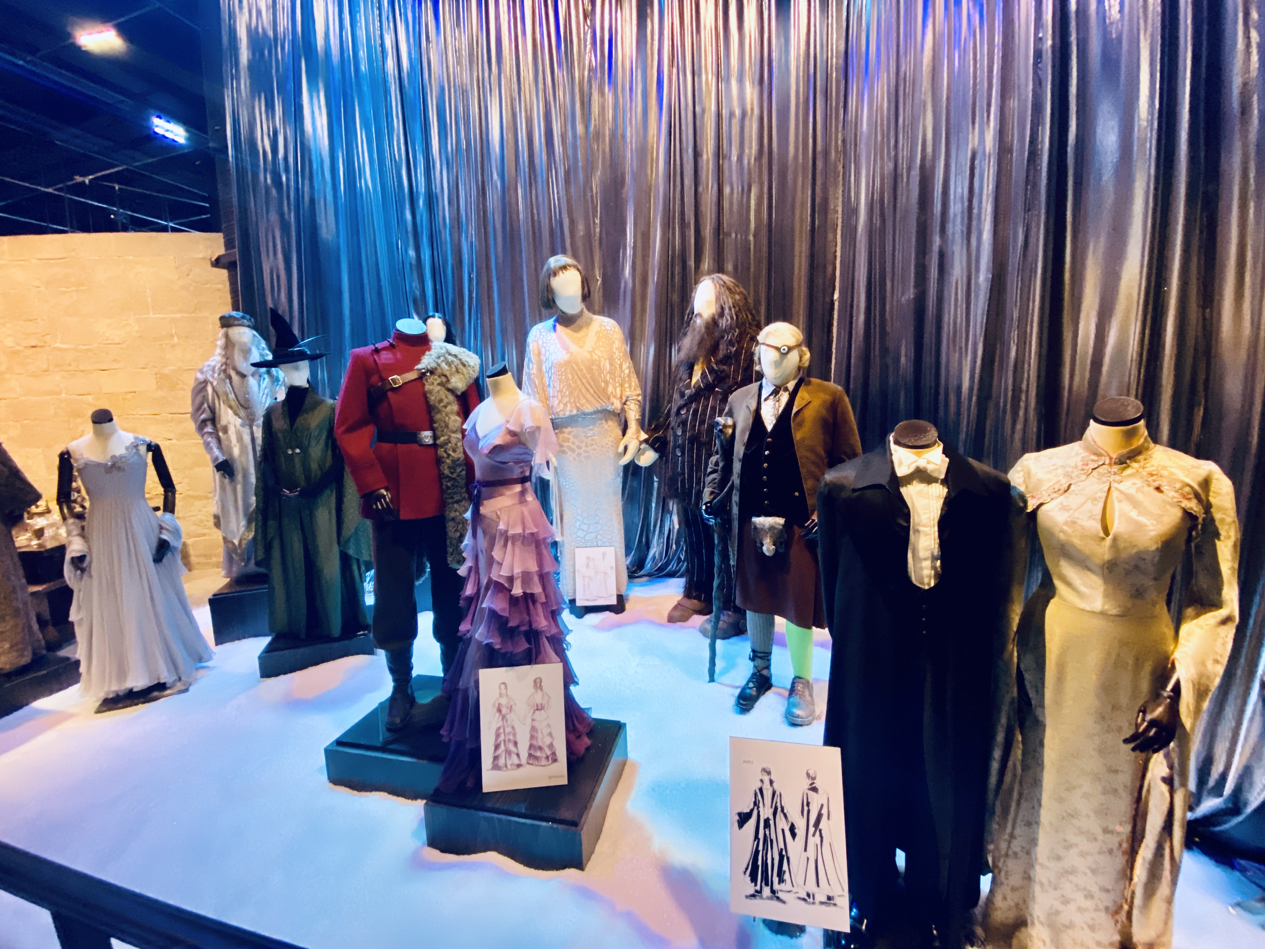yule ball costumes harry potter