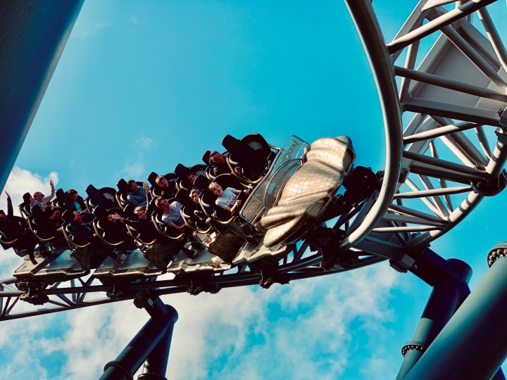 Riding Icon at Blackpool Pleasure Beach