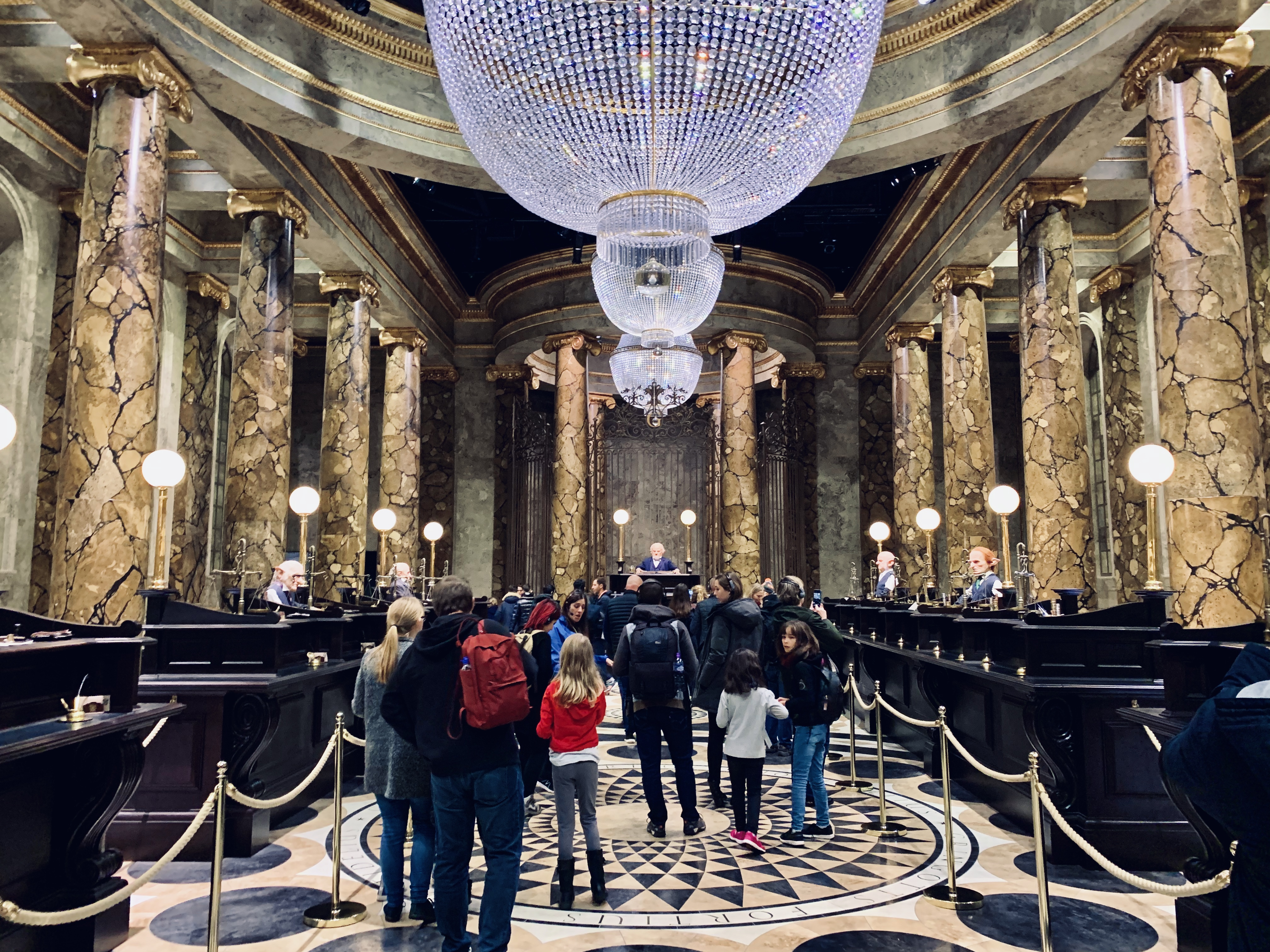 gringotts bank auditorium