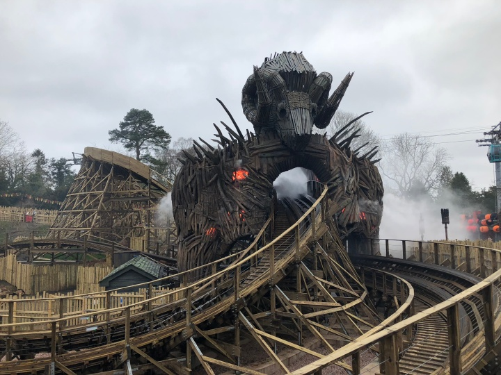 Feed the Flames at Alton Towers
